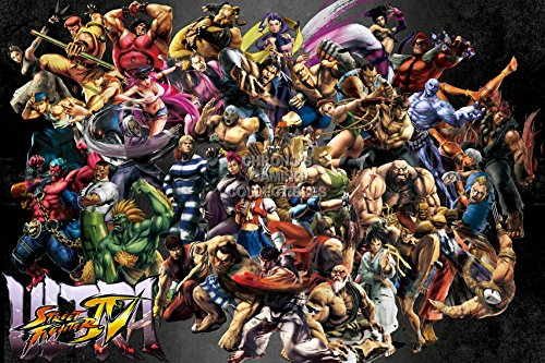 PrimePoster - Ultra Street Fighter IV Poster Glossy Finish Made in USA - OTH289 (24' x 36' (61cm x 91.5cm))