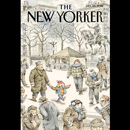 The New Yorker, January 25th 2016 (Jane Mayer, D. T. Max, Kathryn Schulz) audiobook cover art
