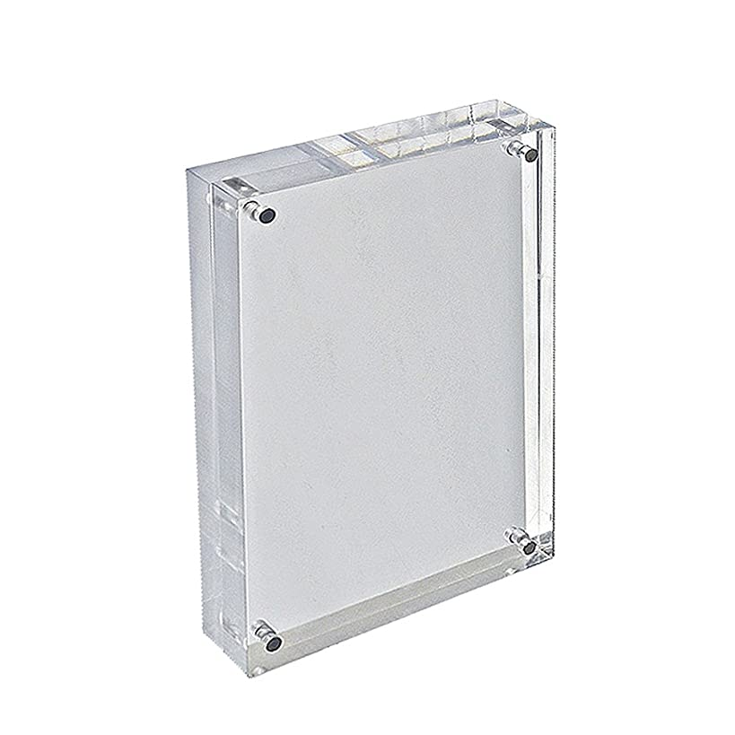 Azar Displays 104435 8.5-Inch by 5.5-Inch Vertical/Horizontal Block Frame