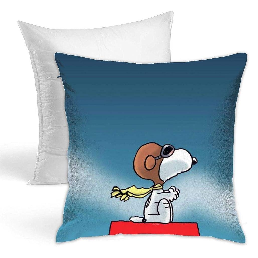 名目上の移動する熟読Snoopy 装飾枕両面タイプ 抱き枕 ソファ 抱き枕 印花 抱き枕 座布団 スロー枕 柔らか 枕 装飾的な枕 42 X 42cm