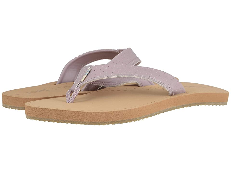 TOMS Gabi (Burnished Lilac Matte Iridescent Synthetic) Women