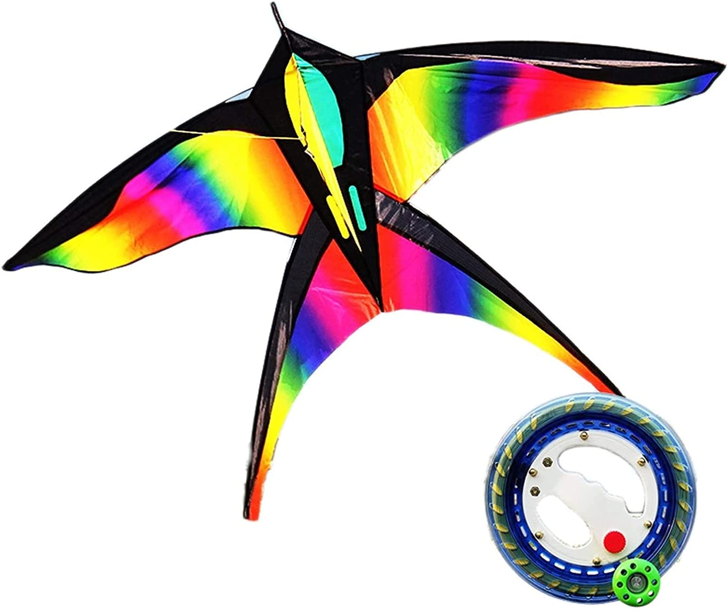 LIOYUHGTFY Kids Kite Outdoor Rainbo for Games Shipping included Fly We OFFer at cheap prices