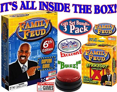 Endless Games Family Feud 6th Edition Set Bundle...
