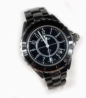時計 ジェイトゥエルヴ 38mm クオーツ 生活日常防水 メンズ 腕時計 ウォッチ ブラック 黒 (33mmダイヤなし)