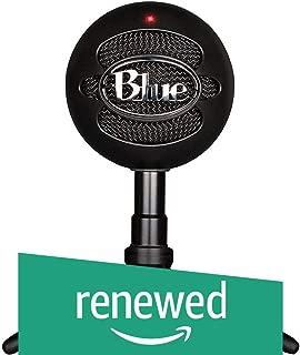 Blue Snowball iCE Condenser Microphone, Cardioid - Black (Renewed)