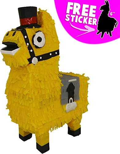 Aurabeam Loot Llama Party Pinata    Party Decorations and Party Games - Hand made in Mexico