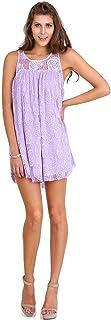 فستان قصير من الدانتيل مزين بالزهور للنساء من Umgee