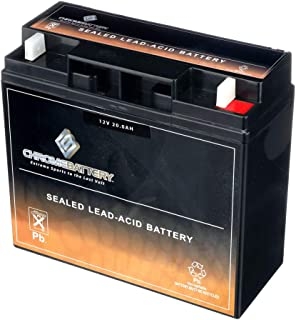 12V 20AH Rechargeable Sealed Lead Acid (SLA) - Nut and Bolt Connector - Replaces Jump Starter Battery