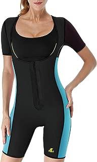 Women Full Body Shaper Neoprene Sweat Sauna Suit Waist Trainer Bodysuit Weight Loss Shapewear