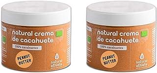 comprar comparacion Crema de Cacahuete Orgánica Natural Athlete, 100% Cacahuete Sin Azúcar, Sin Aceite de Palma y Sin Gluten -Pack 2X300 g