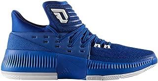 adidas Dame 3 Shoe Mens Basketball 11 Collegiate Royal-White