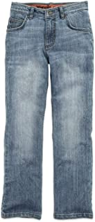 Wrangler Boys, Performance Series Slim Straight Jean, Size 5 Regular(Fade Vintage)