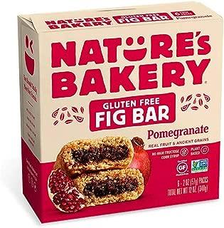 Nature's Bakery Gluten Free Pomegranate Fig Bar, 340g