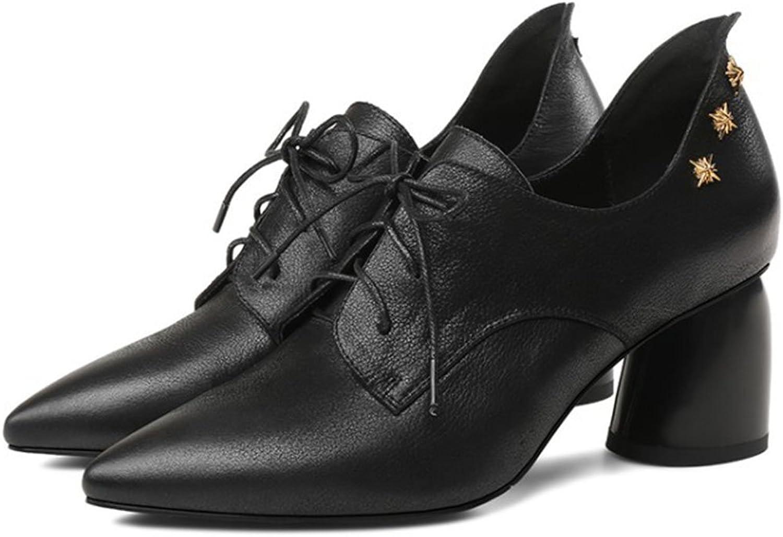 LOHU Damenschuhe Spitz High Heels Pumps Pumps Formale Business Casual Schuhe Nieten Arbeit Frauen Stiefel Fashion High Heels Schwarz Khaki Gre