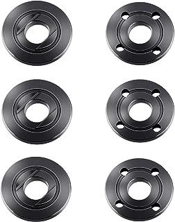 Angle Grinder Flange Nut 5/8 for Dewalt Ryobi Inner Outer Flat Adapter Nut Replacement Makita 224399-1 193465-4 224568-4 9005BZ 9015B (6 Pack)