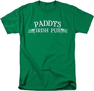 It's Always Sunny in Philadelphia Paddy's Irish Pub T Shirt & Stickers
