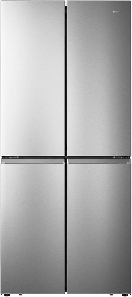 Hisense frigorifero 4 porte, total no frost, classe energetica a+, capacità 432 l RQ563N4AI1
