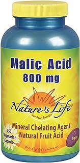 Nature'S Life - Malic Acid 800 Mg. 250 Vegetarian Capsules 152590