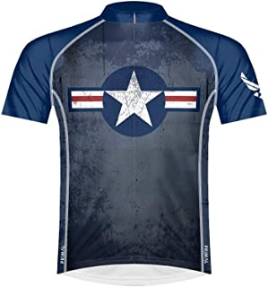 Primal Wear Men's US Air Force Throwback Bike Jersey
