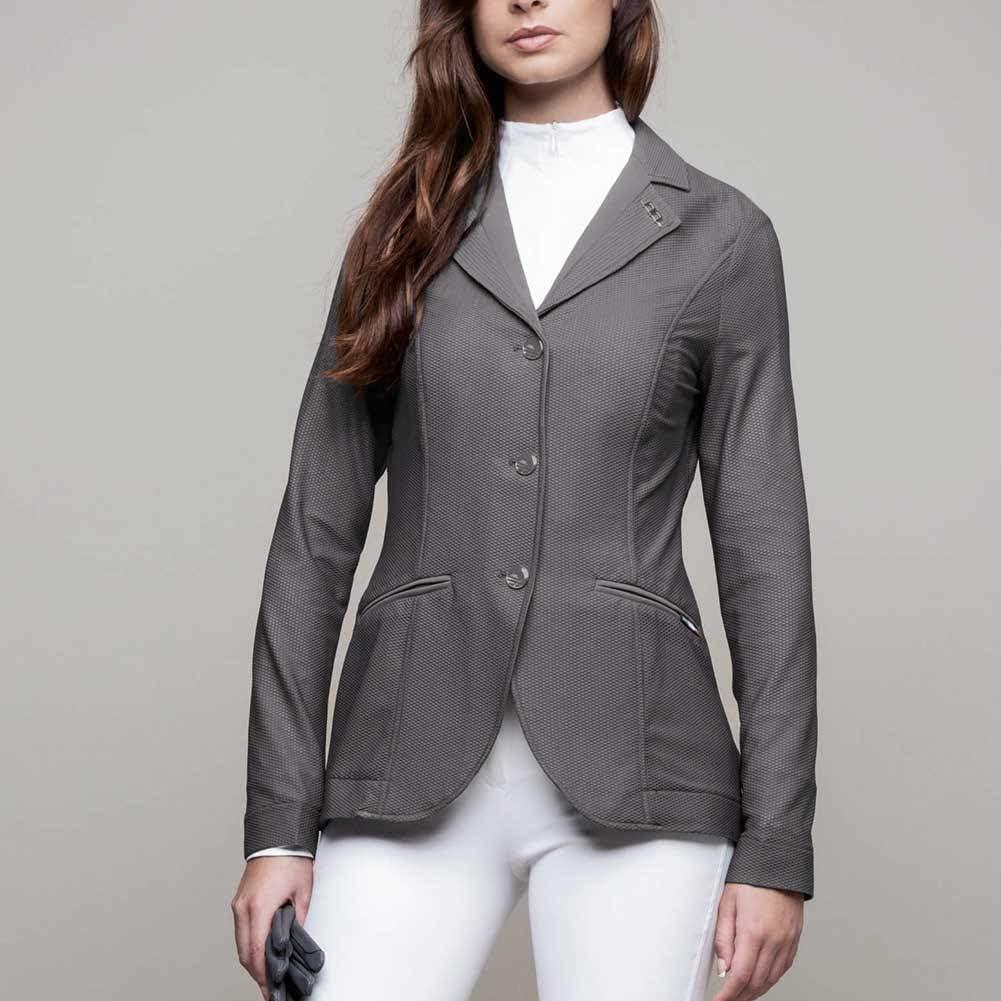Finally resale start Horseware Allesandro Albanese Ladies Motion Grey Excellence Lite Jacket XL
