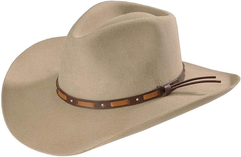 Stetson Men's Hutchins Special price Max 51% OFF 3X Wool Felt Cowboy St Swhutc403420 - Hat