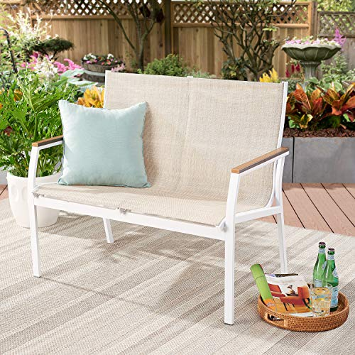 Better Homes & Gardens Neuville Patio Sling Mesh Loveseat