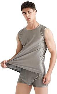 ZMMHW Men's underwear set, 100% Silver Fiber Electromagnetic Radiation Protective Clothing Computer/Mobile Phone/TV EMF Sh...