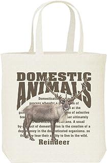 エムワイディエス(MYDS) トナカイ/飼育 動物・家畜/キャンバス M トートバッグ