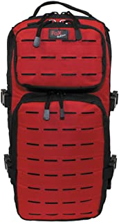 Fox Outdoor Assault-Travel Mochila Negro/Rojo