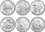 2009 P, D BU Territory Quarters - 12 coin Set...