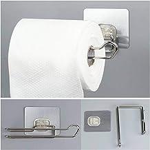 Punch-vrije papieren handdoeken Houder Roestvrij Staal Badkamer Toilet SERVETHOUDER Handdoeken Rekken Keuken Shelf Porta P...
