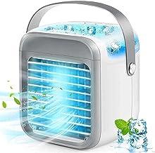 Voortreffelijk 2021 Draagbare AC - 7 kleuren Mini persoonlijke airconditioning eenheden met handvat, USB 2000mAh batterij ...