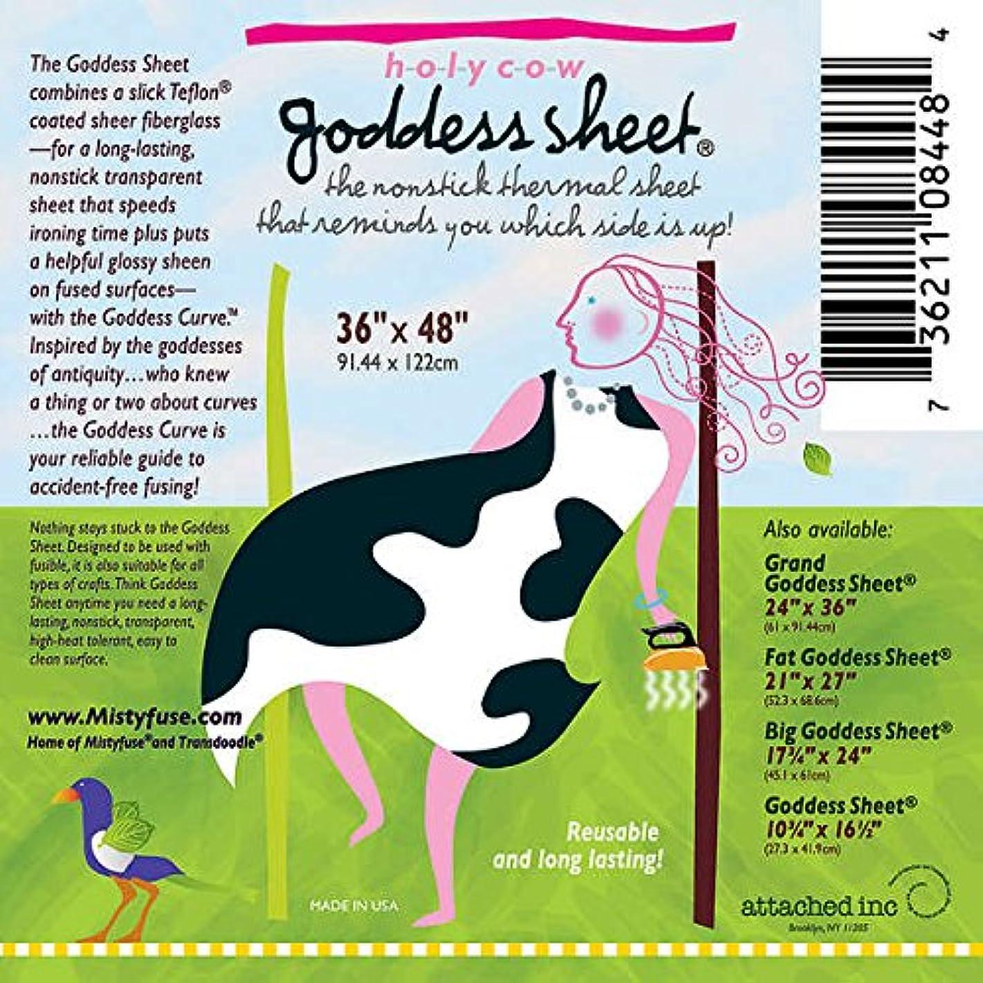 Holy Cow Goddess Applique Pressing Sheet 36