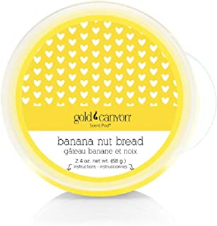 Gold Canyon Scent Pod Wickless Candle (Banana Nut Bread) ~ Notes of Banana, Walnuts, Cinnamon & Clove