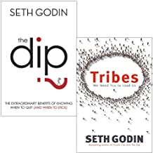 Seth Godin Collection 2 Books Set (The Dip, Tribes)