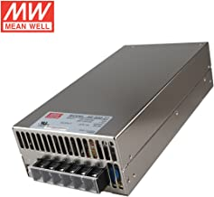 Mean Well SE-600-27 Enclosed Switching AC-to-DC Power Supply, Single Output, 27V, 0-22.2A, 599.4W, 2.5