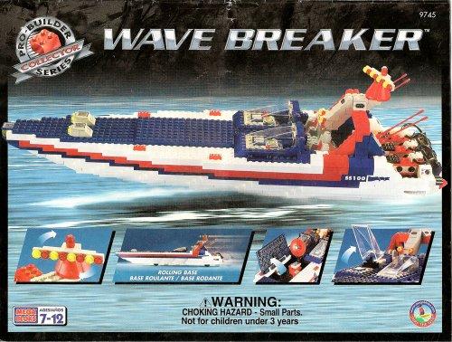 mega bloks pro-builder collector series wave breaker kit