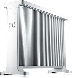 Convectores LHA Radiador de 2200W, portátil, Temporizador Incorporado, 2 configuraciones térmicas, termostato y Corte Seguro