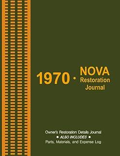 1970 NOVA - Owner's Restoration Journal: Keep details of the progress on your '70 Nova restoration. Track and record parts...