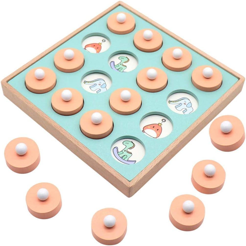 ZZ ZH Product Chess Kids Wooden Stick Intelligen New product! New type Game Memory Match