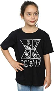 Marvel Girls Black Widow Symbol T-Shirt