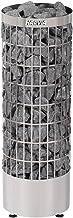 Harvia Sauna Poêle Électrique Cilindro PC70E 6,8 KW Acier Inoxydable, nécessite l'unité de contrôle séparé, Taille de Saun...