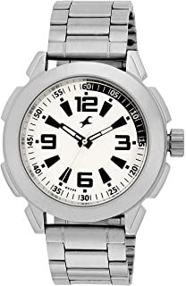 فاستراك ساعة كاجوال للرجال، انالوج، ستانلس ستيل، 3130SM01