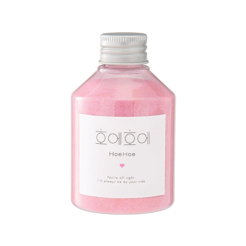重要性スカリー寛容なHoeHoe Bath Powder ローズの香り ホエホエ バスパウダー