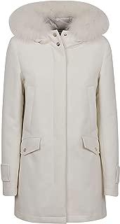 Herno Luxury Fashion Womens PI1008D336001100 White Coat | Fall Winter 19