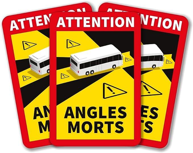 Lepni Me Attention Angle Morts Satz Totwinkelaufkleber Frankreich Für Schwere Fahrzeuge Lkw Oder Bus 100pcs Lkw Auto