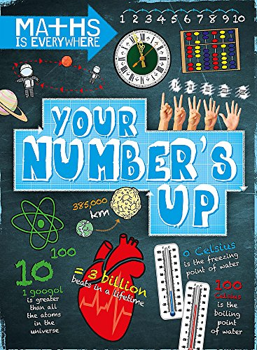 Your Number's Up: Digits, number lines, negative and positive numbers (Maths is Everywhere)