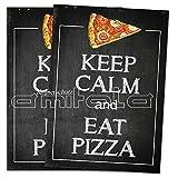2 x Pizza Poster / Plakat DIN A1 Werbung für Pizzeria