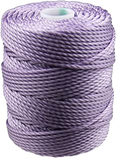 C-Lon Tex 400 Heavy Weight Bead Cord, Orchid - 1.0mm, 39 Yard Spool