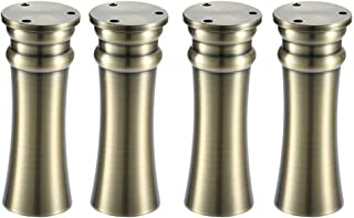 Adjustable sofa legs, Metal legs, set of 4 pieces, Replacement legs for coffee table, 6 colors, 4 sizes